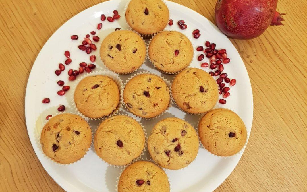 Muffin di melagrana