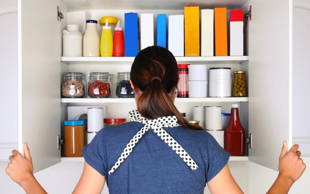 Alimentazione è organizzazione in cucina